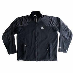 The North Face Men's Black Fleece Zip Jacket XL